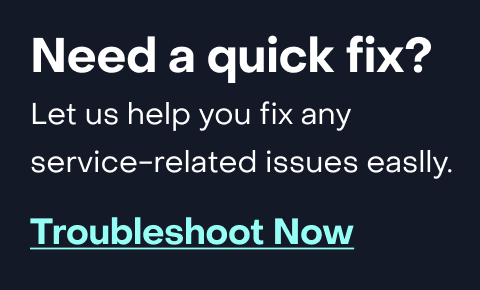 Category banner- Need a quick fix? Frontier's automated troubleshooting tool can fix many connection or service-related issues easily. Try it Now