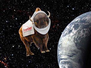 Frank in space