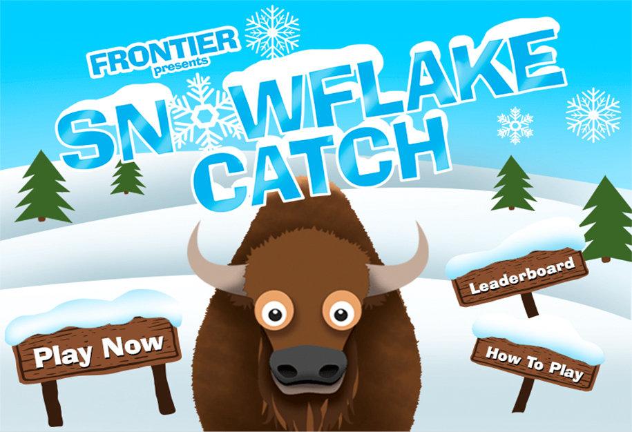 Frontier Presents Snow Flake Catch