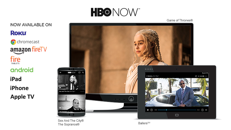 Get HBO NOW from Frontier